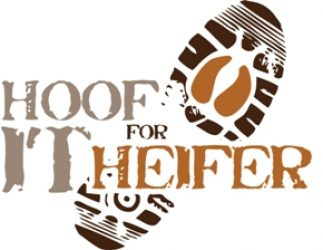 Hoof it For Heifer 20K trail run