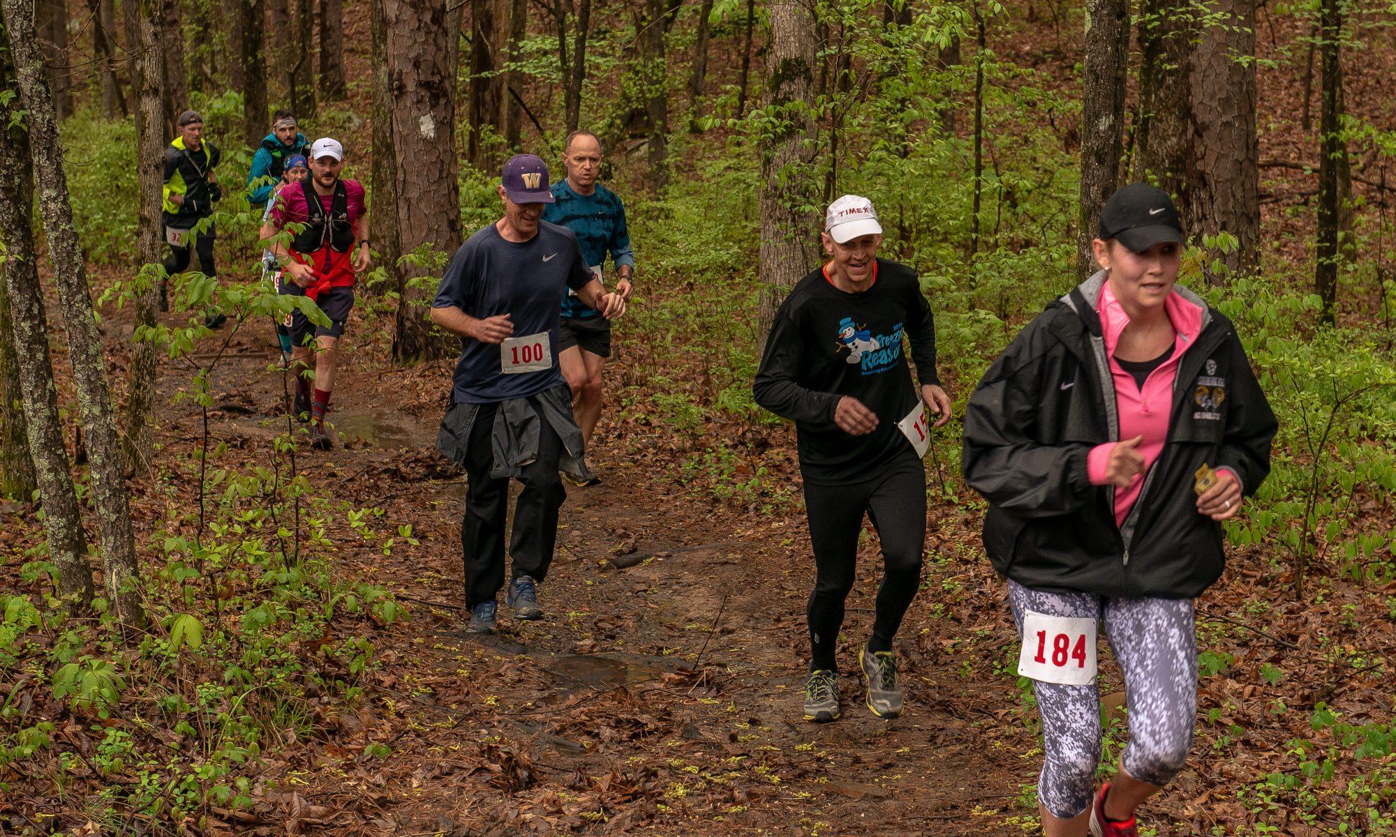 Hoof it For Heifer 20K trail run